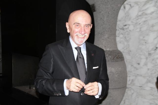 parlando di Michelin, ecco ovviamente Fausto Arrighi, altro protagonista della serata