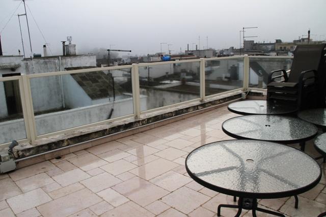 la terrazza (ma il tempo è brutto)