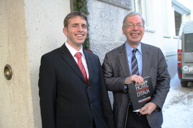 Patrick Dietrich e Urs Kienberger
