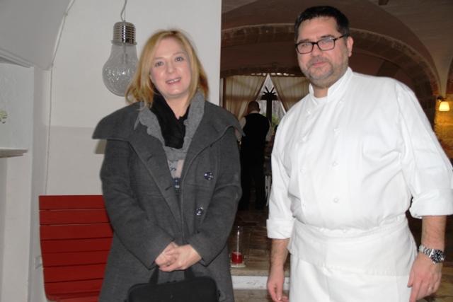 Angelo con Antonella Millarte che ci ha accompagnato