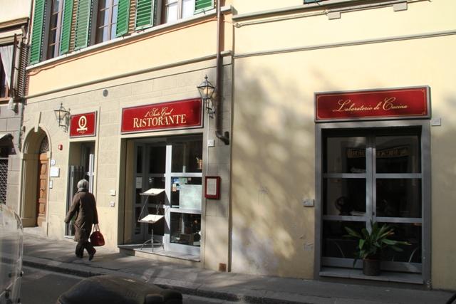 affaccio su via Romana