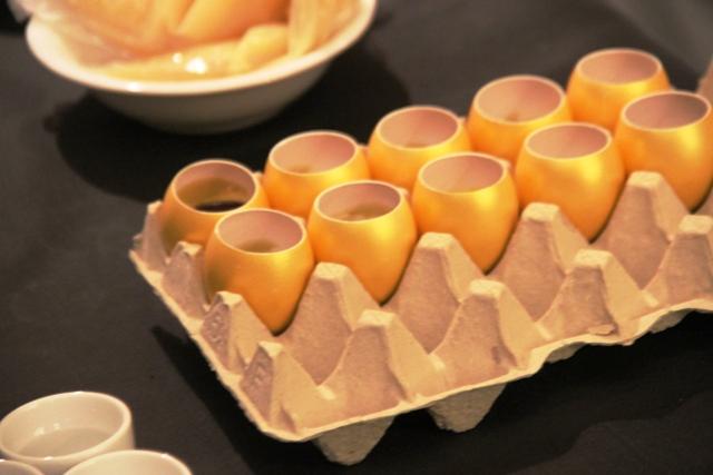 L'uovo perfetto con salsa olandese allo yuzu