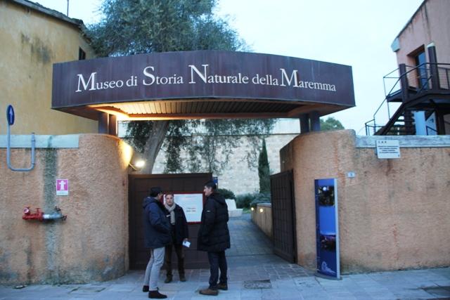 siamo al museo civico di storia naturale di Grosseto