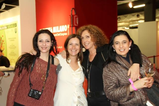 Lorenza Fumelli, Camilla Baresani, Adele Bandera, Lorenza Fumelli