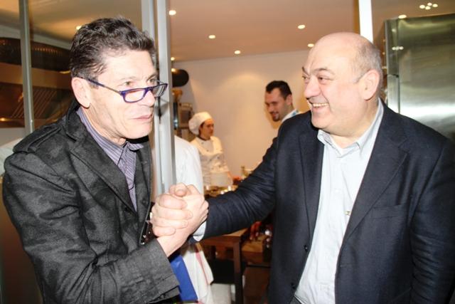 un vecchio amico ora ristoratore: Andrea Cecchini