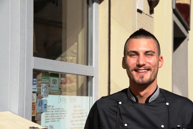 Simone Cipriani, il giovane e bravo chef