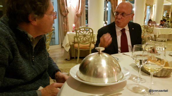 Aldo Werdin all'Excelsior di Rapallo