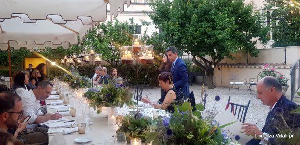 Cena barocca al Donna Camilla Savelli Hotel