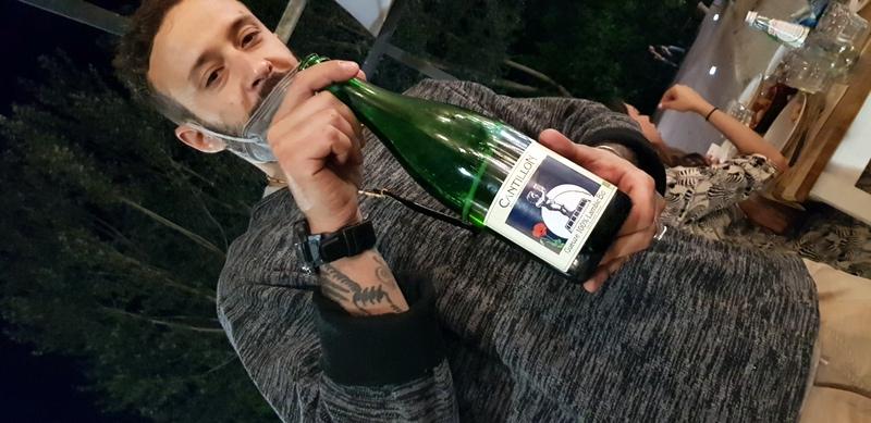 Federico ci fa assaggiare una grande birra belga